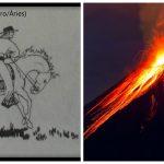Graus 21 a 25 de Vulcão - ou Carneiro/ Áries