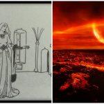 Graus 26 a 30 de Vulcão - ou Carneiro/ Áries