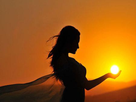 Ligh-Sun-Woman
